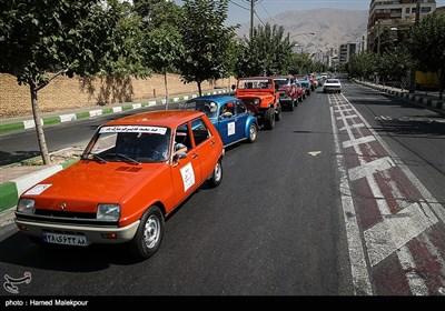 رالی تور شهری خودروهای تاریخی در تهران