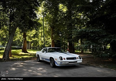 نمایش خودروهای تاریخی در کاخ نیاوران