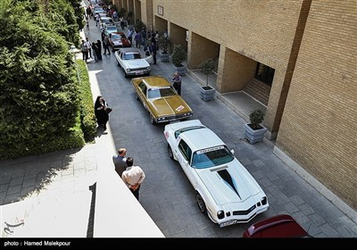 خودروهای تاریخی در سازمان میرات فرهنگی و گردشگری
