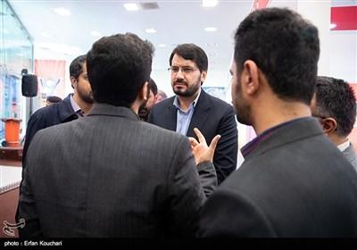 مهرداد بذرپاش در آیین افتتاح پویش ملی (( مشق احسان ))