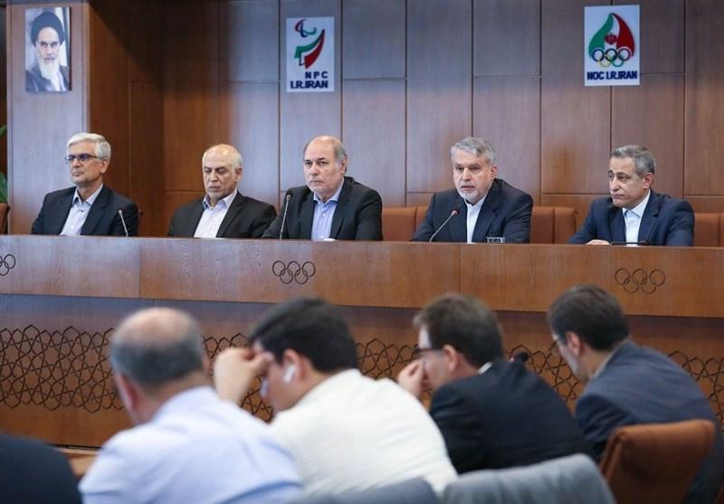 نشست مدیران کل ورزش استانهای کشور با صالحی امیری