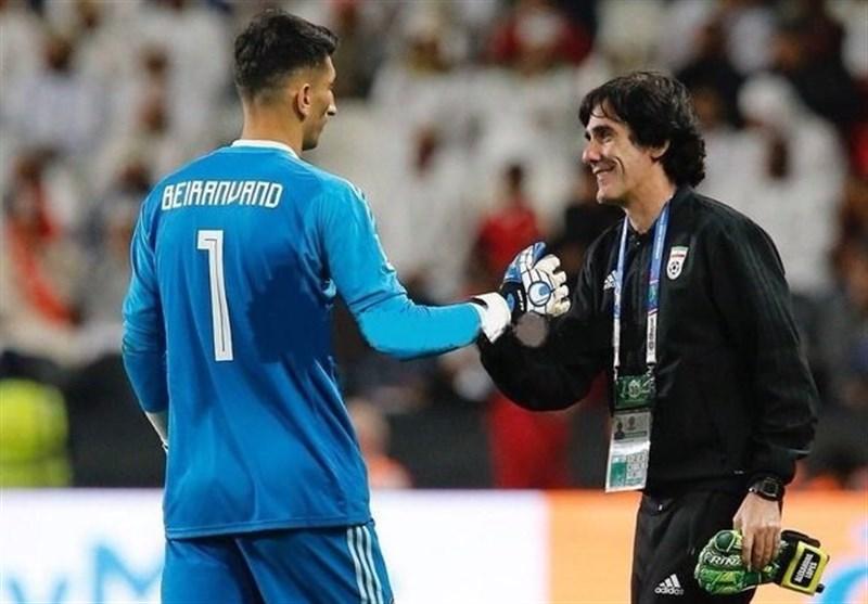 لوپس: بیرانوند پتانسیل لازم برای بازی در اروپا را دارد/ آزمون مستعدترین بازیکن ایران است