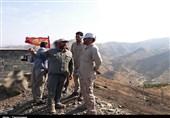 فرمانده سپاه کردستان از مقرهای عملیاتی سپاه در شهرستان مریوان بازدید کرد