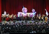 آئین افتتاحیه نهمین جشنواره بینالمللی «دف؛ نوای رحمت»+تصاویر