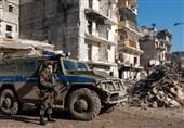 گشتزنی مشترک نظامیان روسیه و ترکیه در منطقه تلرفعت سوریه