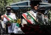 گلباران مزار شهدای آزاده