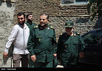 حضور رئیس سازمان بسیج مستضعفین در شهر ساری