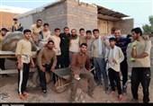 خوزستان| حضور گروه جهادی «شهید عادل سعد» در مناطق محروم دزفول به روایت تصویر