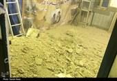 خوزستان  وعدههایی که رنگ عمل به خود ندیدند؛ مسجد 700 ساله دزفول باز هم ریزش کرد