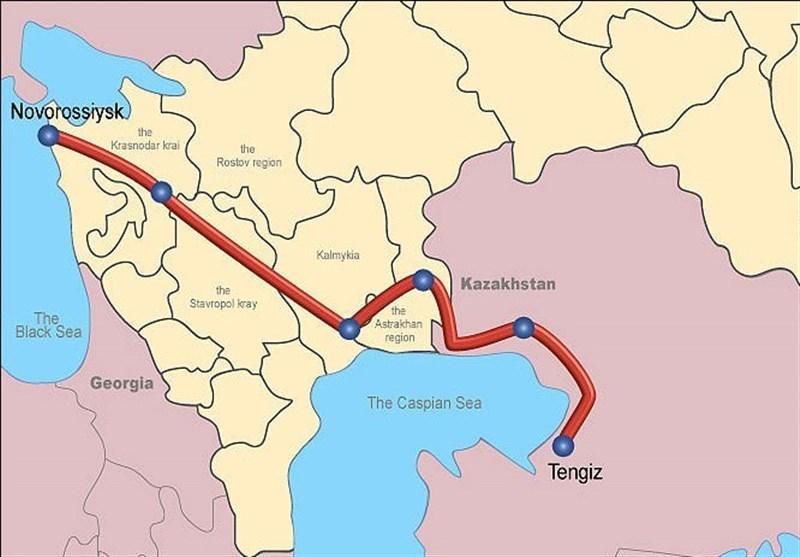 ظرفیت خط لوله انتقال نفت قزاقستان به روسیه افزایش مییابد