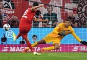 فوتبال جهان  توقف بایرن مونیخ در بازی افتتاحیه بوندسلیگا