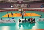 پیروزی تیم والیبال نوجوانان ایران در دیداری دوستانه