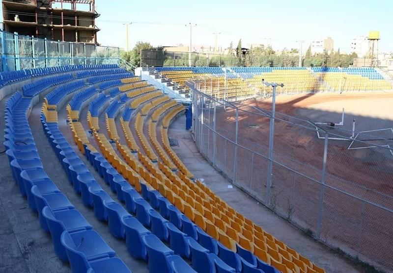آخرین مراحل آمادهسازی ورزشگاه امام علی (ع) سیرجان