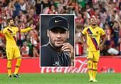 فوتبال جهان| درخواست هواداران بارسلونا از بارتومئو با فریاد «نیمار نیمار»