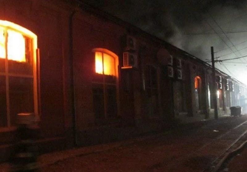 Eight Die in Fire at Ukraine Hotel