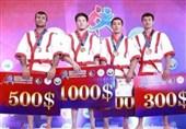 قزاق کورس قهرمانی آسیا| اسکندری به مدال نقره رسید