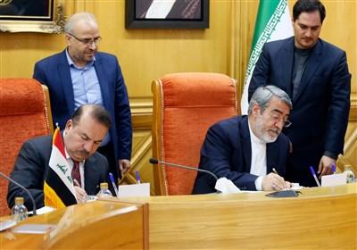 ایران والعراق یوقعان على مذکرة تفاهم تقضی بإلغاء التأشیرات لزوار الاربعین