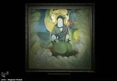 افتتاح نمایشگاه هنرهای تجسمی «غدیر» به روایت عکس