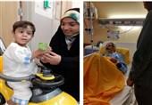 «وقت ملاقات» در بیمارستانهای مشهد؛ 5000 گلدان به بیماران اهدا شد