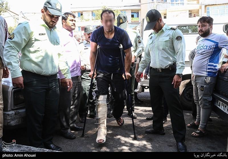 بازداشت اوباشی که با شمشیر به جان مردم افتادند