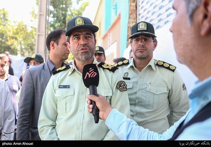 سردار علی ذوالقدری؛ رئیس پلیس امنیت عمومی تهران بزرگ
