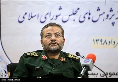 سردار غلامرضا سلیمانی رئیس سازمان بسیج مستضعفین