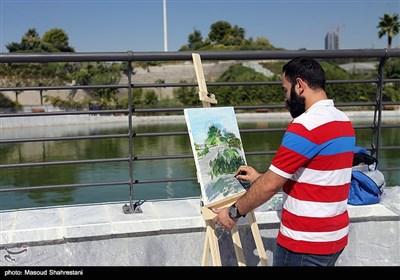 آیین بهره برداری از پروژه های مدیریت شهری در اراضی عباس آباد