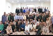 حضور نماینده ولی فقیه خوزستان در جمع سبزپوشان تیپ حضرت حجت(عج)+تصاویر