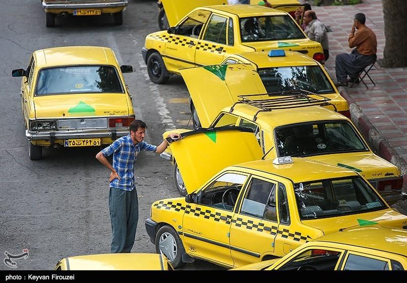 چرخ 2500 تاکسی فرسوده در کرمان به سختی میچرخد
