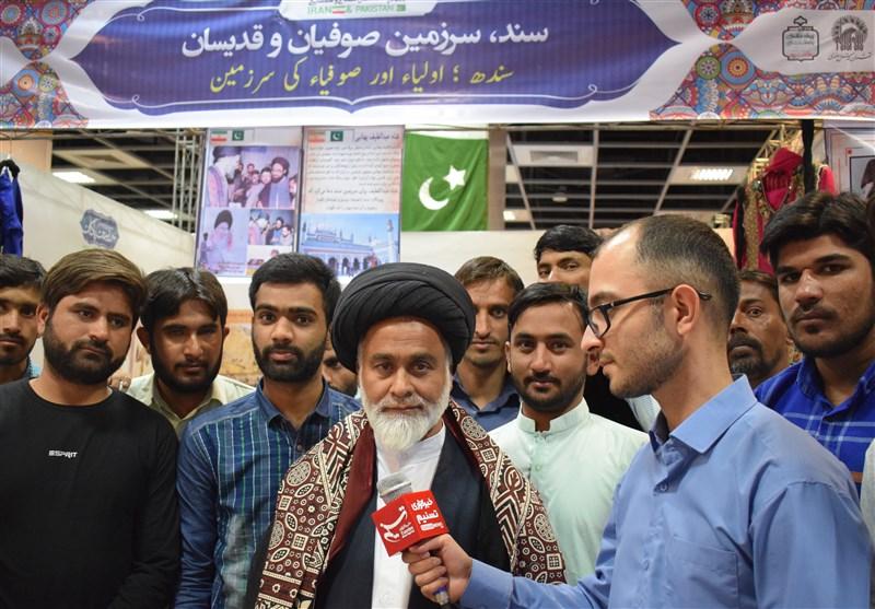 طلبه برجسته پاکستانی: ایران و پاکستان دو کشور همسایه نزدیک به هم هستند +تصاویر