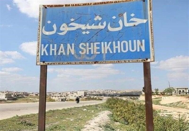 استقرار ارتش سوریه در برخی محلههای شمال «خان شیخون»