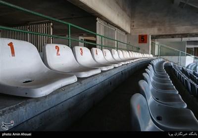 وضعیت ورزشگاه آزادی سه روز مانده به شروع لیگ برتر