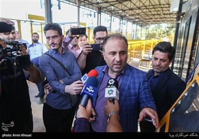 علی اصغر انتظارخیر مدیر سامانه هوشمند گیتهای ورزشگاههای کشور