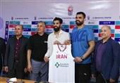 رونمایی از پیراهن تیم ملی بسکتبال در جام جهانی + عکس