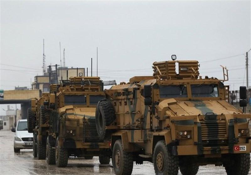 اعتراف آنکارا به هدف قرار گرفتن کاروان نظامی ترکیه در سوریه