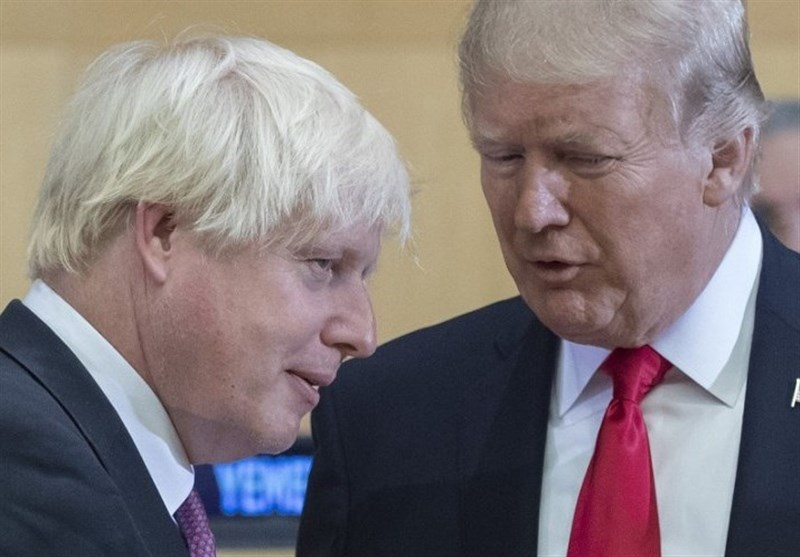 Johnson, Trump Discuss Global Trade Ahead of G7 Meeting
