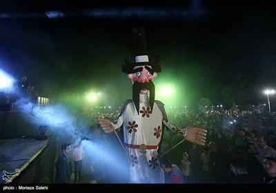 آئین افتتاحیه سی و دومین جشنواره بینالمللی فیلم کودک و نوجوان در باغ غدیر اصفهان