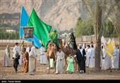 واقعه غدیر در کرمانشاه بازسازی شد + تصاویر