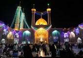 شب عید غدیر در حرم حضرت معصومه(س) به روایت تصویر