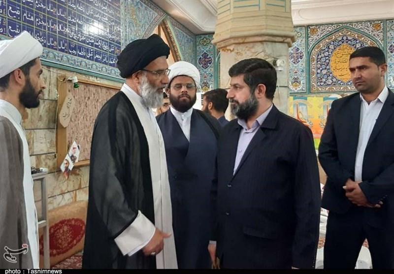 """دیدار عیدانه """"غدیر خم"""" مردم و مسئولان با نماینده ولی فقیه در خوزستان+تصویر"""