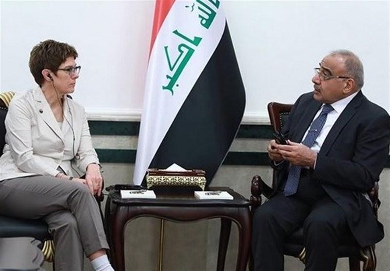 اخبار عراق|دیدار وزیر دفاع آلمان با عبدالمهدی/ مذاکرات بغداد و اروپا درباره داعش