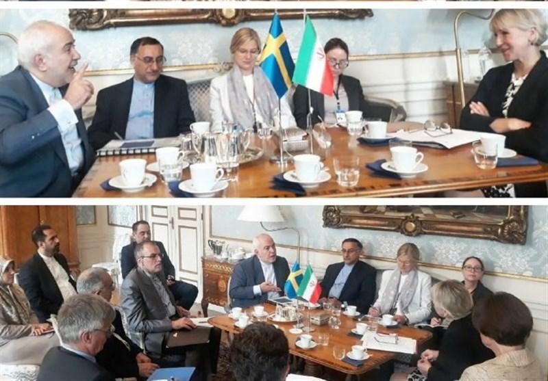 Iranian, Swedish FMs Meet in Stockholm