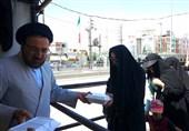 12 هزار غذا به مناسبت عید بزرگ غدیر در جوار حرم کریمه اهل بیت (ع) توزیع شد