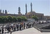 توزیع 12 هزار اطعام در جوار حرم حضرت معصومه (س) به روایت تصویر