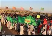 بازسازی واقعه غدیر در دهزیار کرمان به روایت تصویر