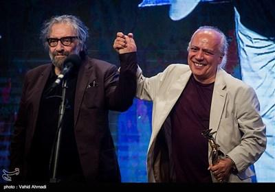 سیروس الوند و مسعود کیمیایی در بیستویکمین جشن خانه سینما