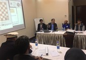 تدریس پهلوانزاده و پوررمضانعلی برای مربیان و داوران شطرنج افغانستانی