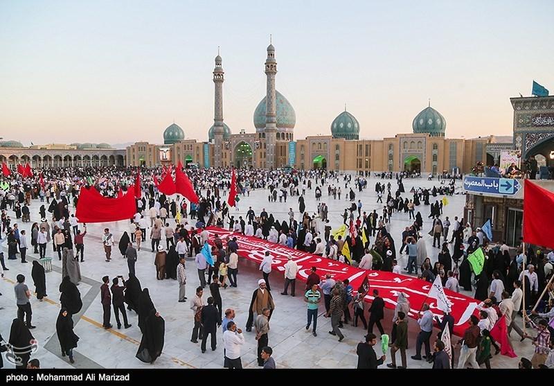 """جشن بزرگ """"عصر همدلی"""" در مسجد مقدس جمکران برگزار شد"""