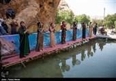 این جشنواره با هدف معرفی جاذبه های گردشگری استان کرمانشاه برگزار شد
