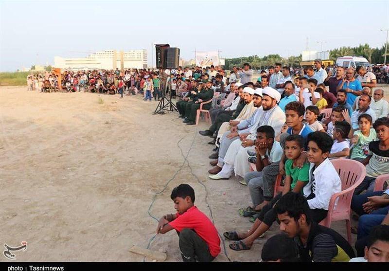 قشم| فعالان نمایشهای مذهبی به صورت خودجوش خلق اثر میکنند